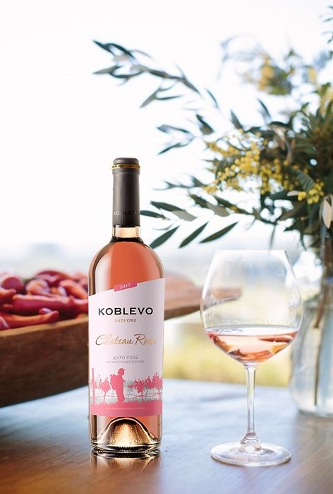 KOBLEVO CHATEAU ROSE - new position of wine series BORDO