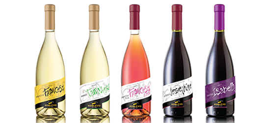Author`s collection of wine