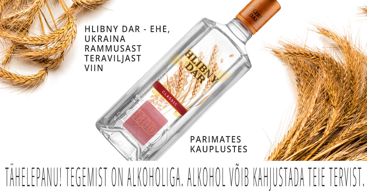 The HLIBNY DAR brand conducted an advertising campaign in the alcohol market of the Baltic States.