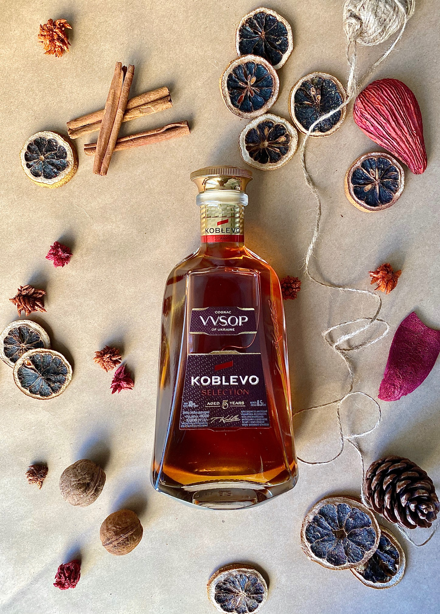COGNAC KOBLEVO INTRODUSES A NEW LINE TO THE MARKET  - KOBLEVO SELECTION