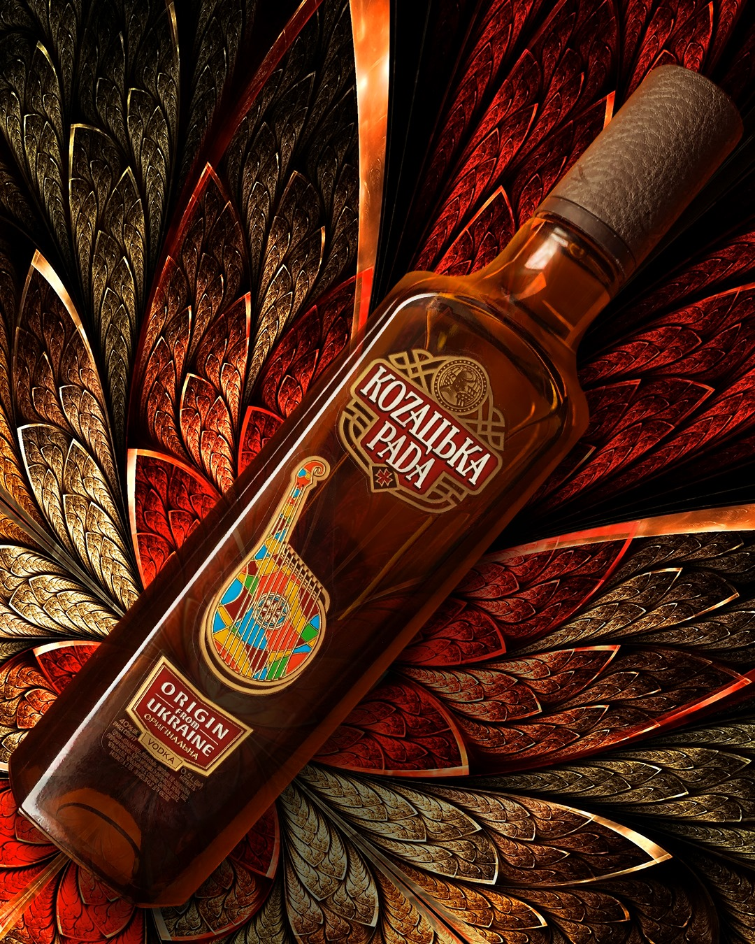 ORIGIN FROM UKRAINE! BRAND KOZATSKA RADA PRESENTED A NEW DESIGN OF VODKA ORIGINAL