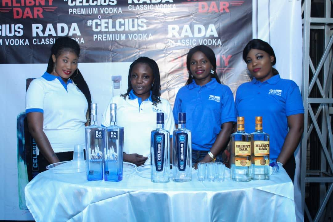 BAYADERA GROUP HOLDING PRESENTED UKRAINIAN VODKA IN THE AFRICAN CONTINENT MARKET
